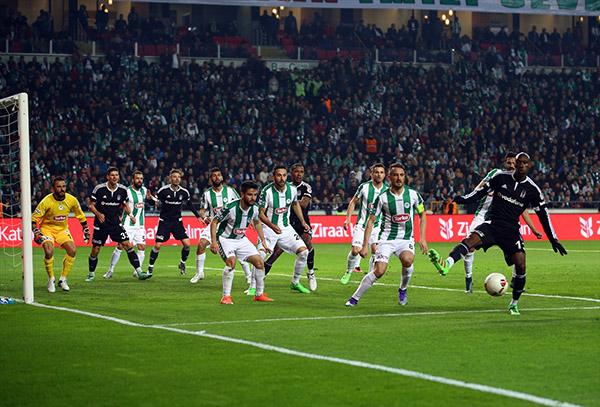 Torku Konyaspor - Beşiktaş - Foto Galeri