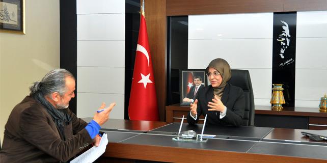 Meram Belediye Başkanı Fatma Toru ile Röportaj