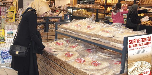 Adese, Suriye ekmeği satışına başladı