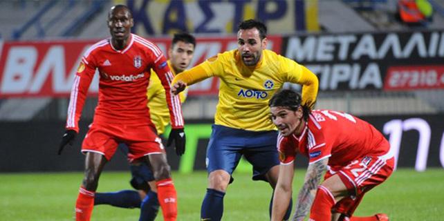 Asteras Tripolis 2 – 2 Beşiktaş