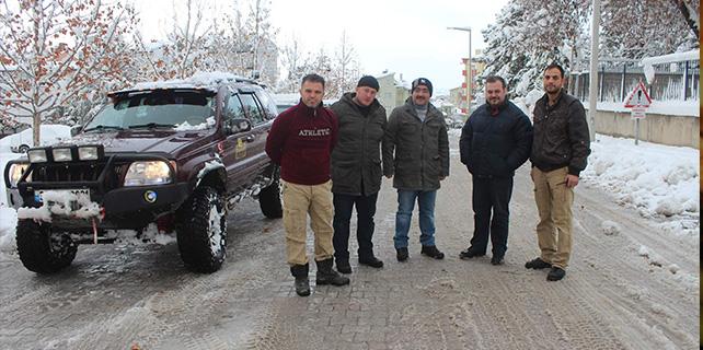 Eğitime Jandarma ve Off-Road desteği