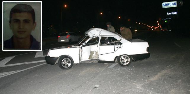 Ehliyetsiz sürücü hayatını kaybetti