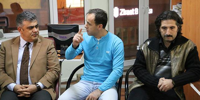Ereğli Belediye Başkanı Özgüven'den Anfoder'e ziyaret