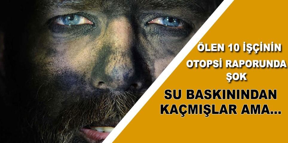 Ermenek'te ölen madencileri metan gazı öldürmüş