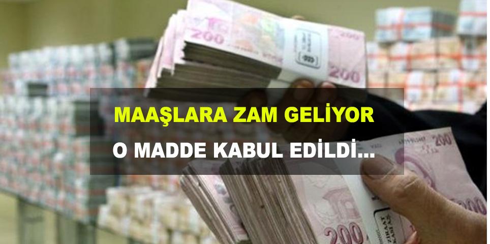 Hakim ve savcıların maaşlarına zam!