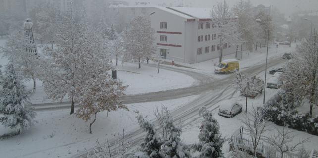 Konya'nın 2 ilçesinde okullar tatil