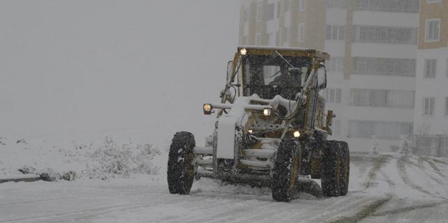 Meram belediyesi kar mesaisine başladı
