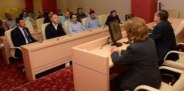 Meram'da personele diyabet eğitimi verildi