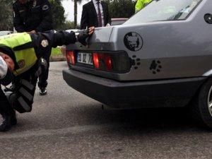 Polisi bile şok eden egzoz!