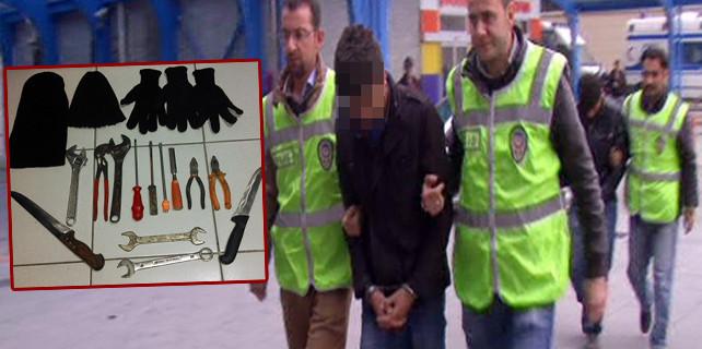 Şaşkın hırsızlar tutuklandı