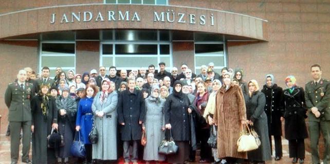 Şehit aileleri ve gazilere Ankara gezisi
