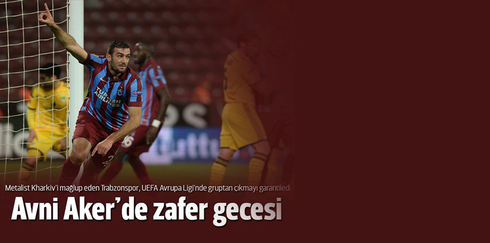 Trabzonspor 3-1 Metalist Kharkiv