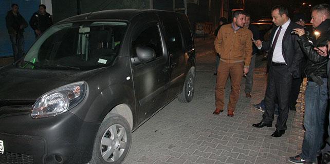 Adana'da polis otosuna silahlı saldırı