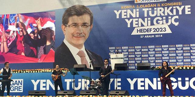 Ak Parti seçim şarkısını Konya'da tanıttı