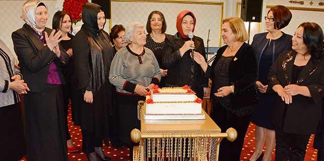 Aksaray'da yardımseverler yıl dönümlerini kutladı