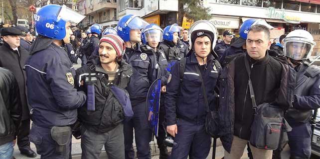 """Ankara'da """"Kobani"""" gözaltısı"""