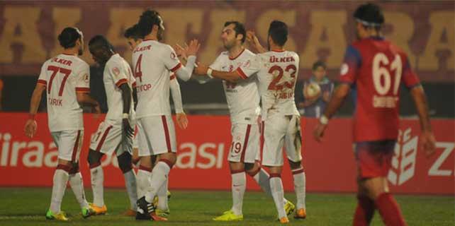 Balçova Yaşamspor – Galatasaray: 1-9