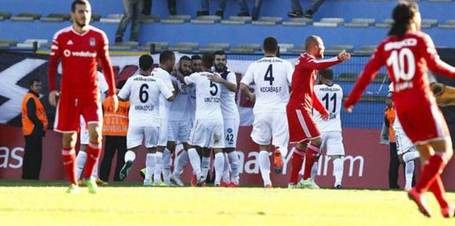 Beşiktaş-Adana Demirspor: 1-2