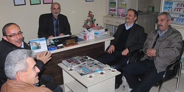 Beyşehir Gazeteciler Cemiyeti'nden Ak Parti İlçe Başkanı Şenol'a Ziyaret