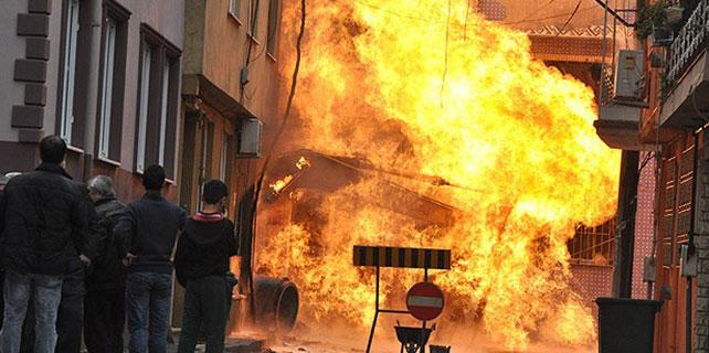 Bursa'da doğalgaz kazası