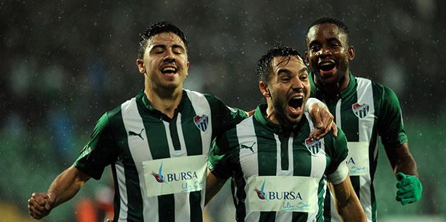 Bursaspor'da tek hedef 3 puan