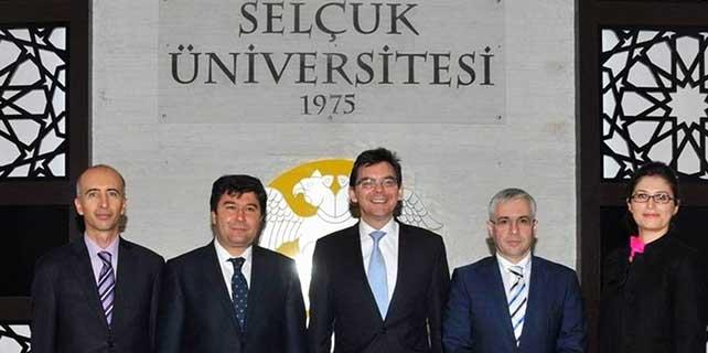 Büyükelçi'den Selçuk Üniversitesi'ne ziyaret