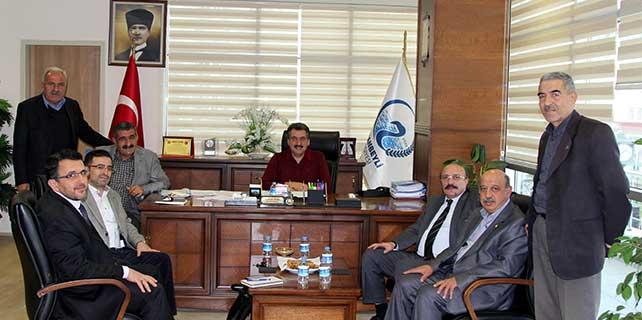 Cihanbeyli'de organize hayvancılık bölgesi incelemesi yapıldı