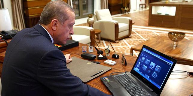 """Cumhurbaşkanı Erdoğan AA'nın """"Yılın Fotoğrafı"""" oylamasına katıldı"""