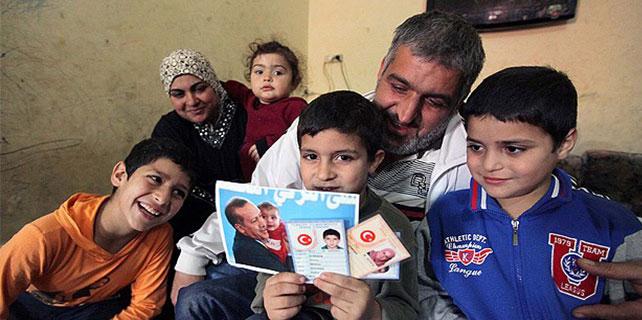 Cumhurbaşkanı Erdoğan Filistinli küçük Erdoğan'ı unutmadı