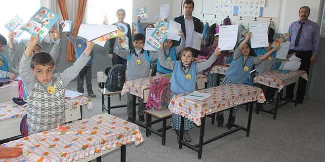 Derinkuyu'da ilkokul öğrencilerine hijyen eğitimi verildi