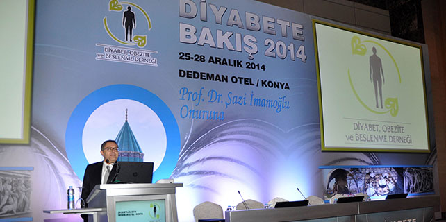 Diyabete bakış 2014 sempozyumu Konya'da başladı
