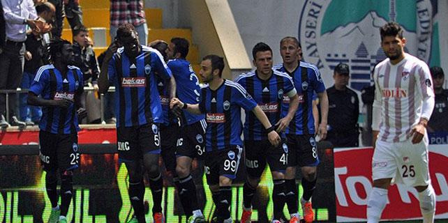 """Erciyesspor puanları """"1-1"""" topladı."""