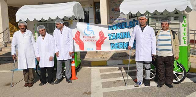 Ereğli'de engelli gençlere iş istihdamı