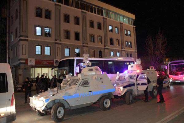 Erzincan'da olaylar durulmuyor