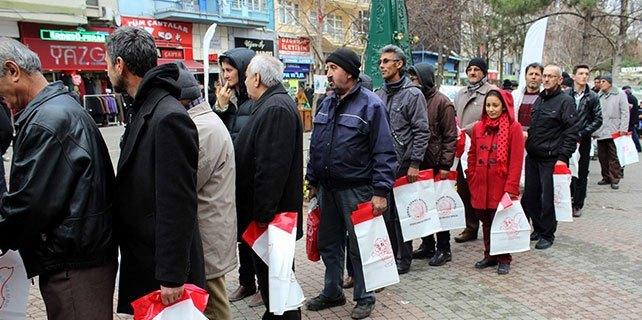 Eskişehir'de fidan dağıtımı