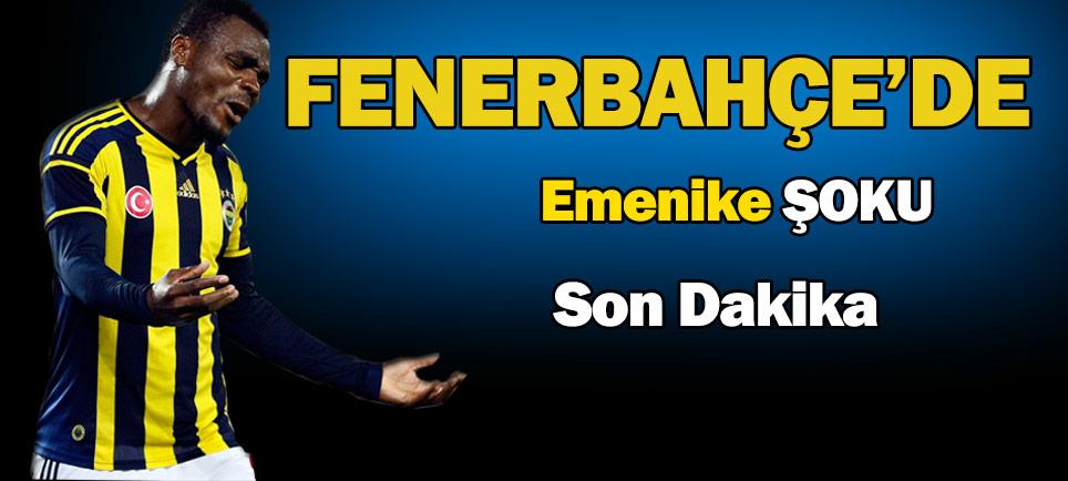 Fenerbahçe'ye Emenike'den kötü haber