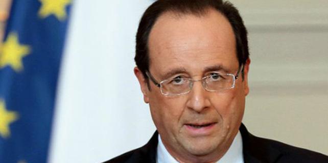 Fransa Cumhurbaşkanı Hollande, Cezayir Başbakanı Sellal'i kabul etti