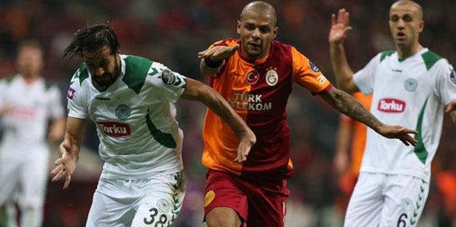 Galatasaray ile Torku Konyaspor 27. maça çıkıyor.