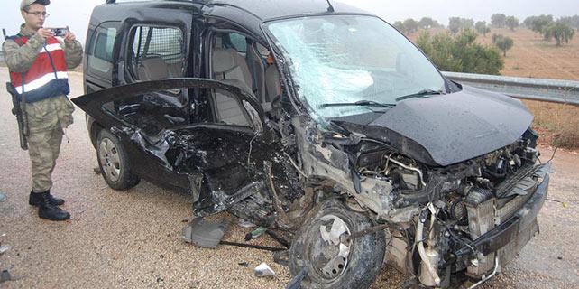 Gaziantep'te trafik kazası: 10 yaralı
