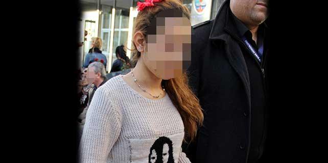 Genç kız tutuklandı