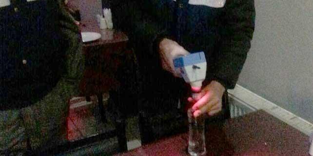 İçkili mekanlara bandrol operasyonu