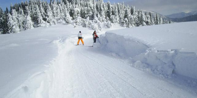 Ilgaz Dağı'nda kar kalınlığı 45 santimetreye ulaştı