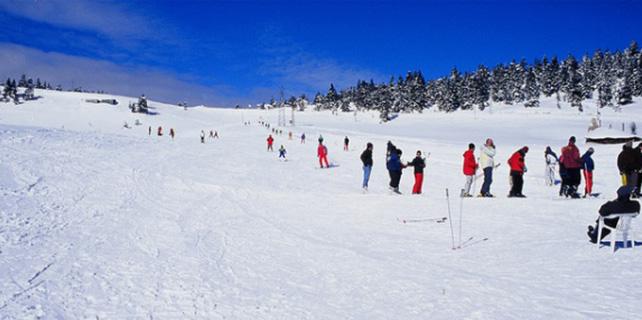 Ilgaz Dağı'nda kayak sezonu başladı