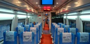To Pendik YHT train at early hour - Istanbul Forum
