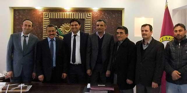 Ketenliler Derneği'nden başkan Tutal'a ziyaret