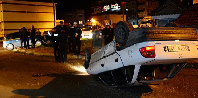 Kırklareli'nde trafik kazası: 6 yaralı