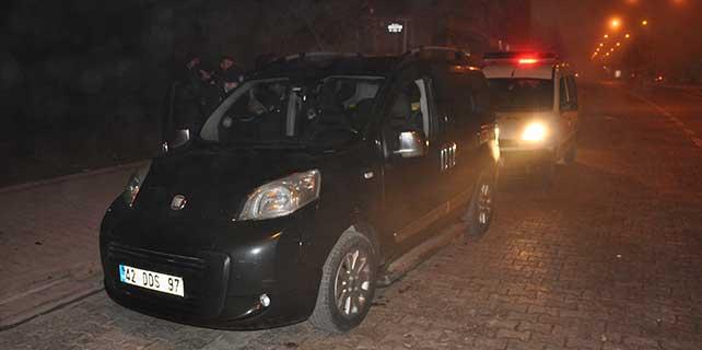 Konya'da polis şüpheli kovalamacası:3 Gözaltı