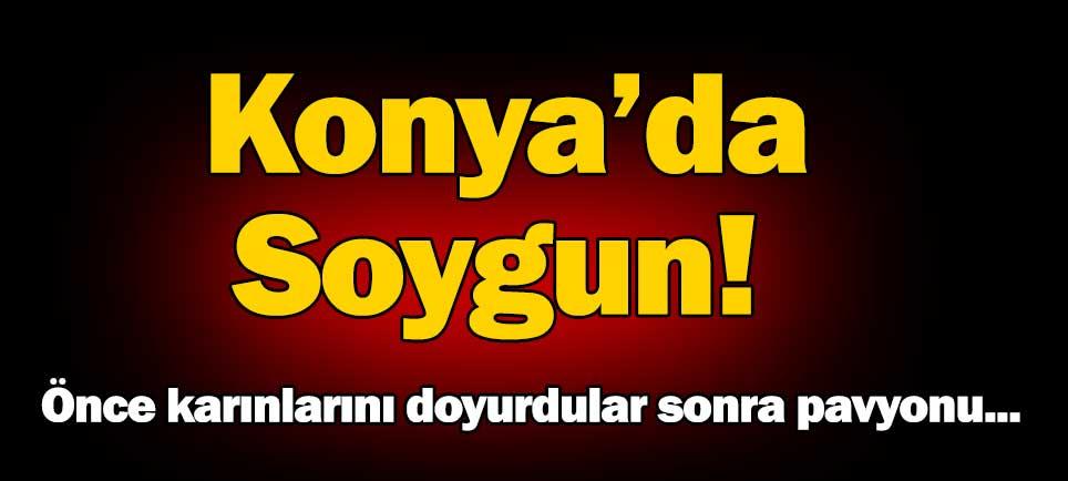 Konya'da soygun!