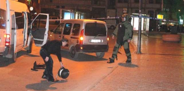 Konya'nın En İşlek Caddesinde Şüpheli Çanta Paniği