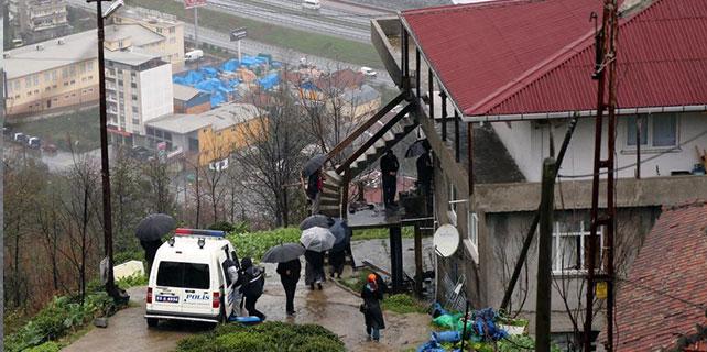 Rize'de ev yangını: 1 ölü, 1 yaralı
